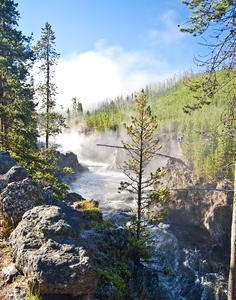 MC 266 FIREHOLE RIVER FALLS